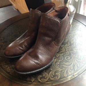 Brown leather Boots ‼️